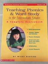 Teaching Phonics & Word Study in Intermediate Grades 3-8 in Okinawa, Japan