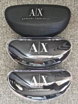 3 ARMANI EXCHANGE SUNGLASSES CASES in Okinawa, Japan