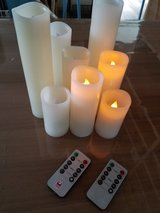Candles with remotes in Okinawa, Japan
