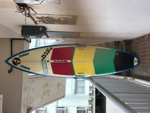 Used BLANE CHAMBERS SUP Board with Paddle, Leash and Case in Okinawa, Japan