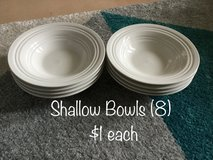 Shallow Bowls and Coffee Cups in Okinawa, Japan