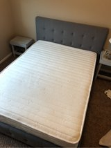 IN GREAT CONDITION full size mattress and frame in Fort Carson, Colorado