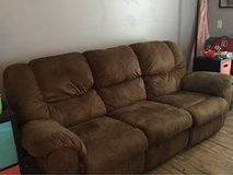 reclining couch in Fort Rucker, Alabama