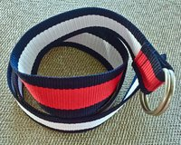 NEW TOMMY HILFITGER Red, White and Blue Belt. Size Small. in Okinawa, Japan