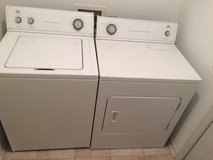 Washer and Dryer in Eglin AFB, Florida