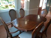 Formal Dining Room Set, 6 Chairs, and A Hutch in Camp Pendleton, California