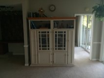 Entertainment Center and Living Room Storage Unit excellent condition and good quality in Camp Pendleton, California