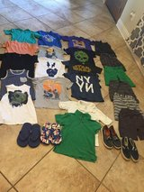 Boys size small clothing & shoe lot prices separately in Leesville, Louisiana