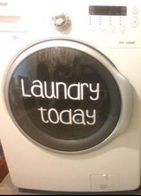 Samsung front load washer with steam option in Fort Leonard Wood, Missouri
