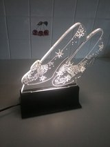 Ruby Slippers Light Sculpture in Tomball, Texas