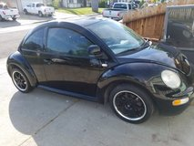 2000 Vw Beetle Stick Shift, Runs Great, but needs a little work $1245 OBO in Vacaville, California