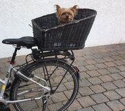 Dog Bike Basket with detachable caged top in Stuttgart, GE