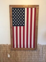 Handcrafted 3' x 5' Framed American Flag in Fort Lewis, Washington