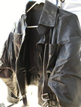 Leather jacket in Yucca Valley, California