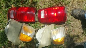 Tail lights and heads in Fort Rucker, Alabama