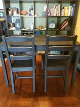 Ikea dining table and chairs in Oceanside, California