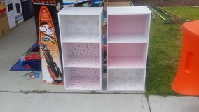 Two kids shelves in Oceanside, California