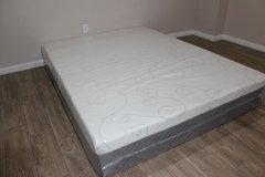 Queen Sleep Innovation Memory Foam Mattress in Kingwood, Texas
