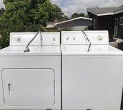 Kenmore washer and electric dryer in Oceanside, California