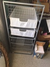 Metal drawers with baskets in Naperville, Illinois