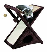 TRIXIE Pet Products Miguel Fold and Store Cat Tower in Aurora, Illinois