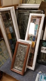 Assorted size leaded & stained glass double pane low e panels new & Used in Chicago, Illinois