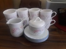Corelle coffee service for 8 includes sugar bowl and creamer in Naperville, Illinois