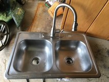 Kitchen sink with faucet in Chicago, Illinois
