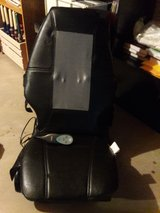 Shiatsu rolling massage seat w/heat (remote) in Aurora, Illinois