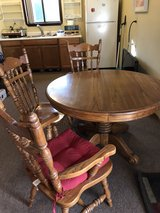 oak table and chairs in Vacaville, California