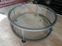 Pottery Barn Glass Coffee Table in Oceanside, California