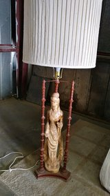 Asian lady lamp in Barstow, California