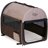 Petmate Portable Pet Home, Dark Taupe/Coffee Grounds Brown in Glendale Heights, Illinois