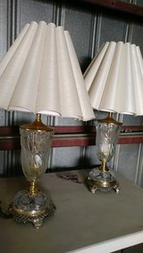 Glass table lamp in Barstow, California