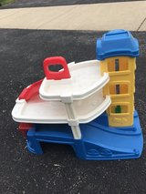 toy garage for small cars in Aurora, Illinois