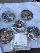 Franklin mint plate collection in Yucca Valley, California