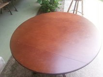 Wood Dining Room Table & Four Wood Chairs in Kingwood, Texas