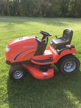 "Simplicity conquest garden tractor only 230 hours,18hp. twin motor 50"" deck hydro trans crusie c... in Yorkville, Illinois"