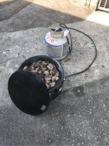 propane firepit in Okinawa, Japan