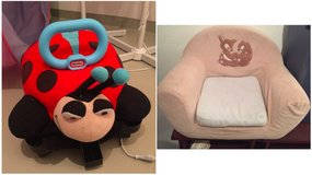 Toddler Ride On Lady Bug and Toddler Chair in Stuttgart, GE