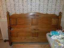 Full size bed frame in Naperville, Illinois