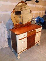Antique Dresser & Mirror in Elgin, Illinois