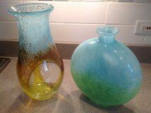 Glass vases in Turquoise in Naperville, Illinois