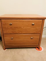 Lockable Wood File Cabinet in Algonquin, Illinois