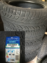 "New 2015,  20"" winter tires 265/50R20 107T in Ansbach, Germany"
