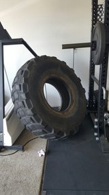 big tire in Fort Leonard Wood, Missouri
