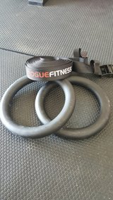 Rogue fitness rings set. in Fort Leonard Wood, Missouri