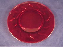 FOSTORIA Jamestown Ruby Red ~ 2 Plates, 2 Champagne, 5 Water in Batavia, Illinois