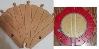 Seeking Wooden Train 5 way switch or turn table ISO Wood Turntable in Glendale Heights, Illinois