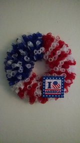 Americana Wreath/ Handmade/ Beautiful in Fairfield, California